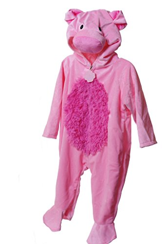 Dress Um's Toddler Pig Costume Size Sm 2 - 3