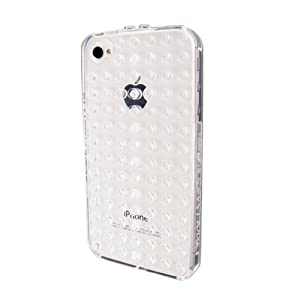SmallWorks BrickCase for iPhone 4 & 4S - Verizon, AT&T and Sprint (Clear)