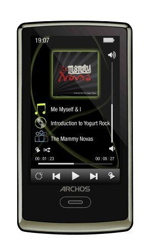 Archos 3 Vision 8 GB Video MP3 Player (Chocolate Brown)
