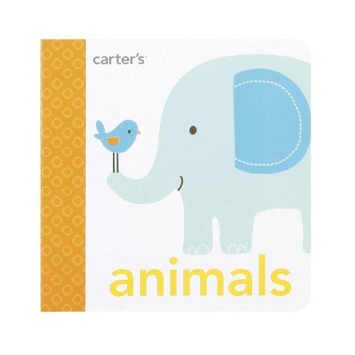 Carter'S Mini Board Book, Animals front-158376