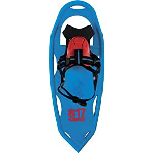 Atlas Snowshoes Boy's Sprout Snowshoes, Cyan, 17-Inch