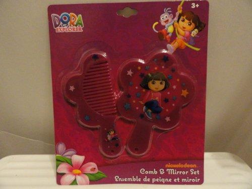 Dora the Explorer Comb & Mirror Set - 1