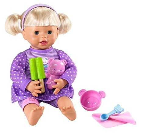 Little Mommy My Very Real Baby Doll by Mattel TOY (English Manual)