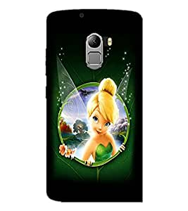 PrintDhaba Cute Angel D-2287 Back Case Cover for LENOVO K4 NOTE A7010a48 (Multi-Coloured)