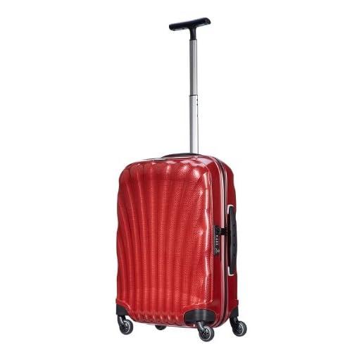 [サムソナイト] SAMSONITE Cosmolite  /  コスモライト スピナー55  (スーツケース・キャリーケース・トラベルバッグ・TSAロック装備・大容量・軽量・ジッパー・保証付) V22*00002 00 (レッド)