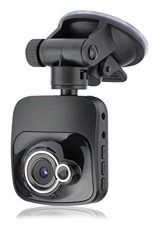 a-rival CarCam One CQN6O Full-HD Autokamera, Dashcam, 3 Megapixel, 2 Zoll TFT, HDMI, USB, Bewegungssensor, Mikrofon, Lautsprecher, AV Ausgang, Saugnapf