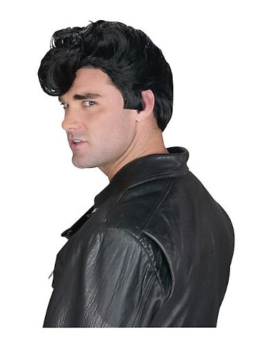Dannys Grease Costume Wig - Adult Std. (Danny Sandy Costumes)