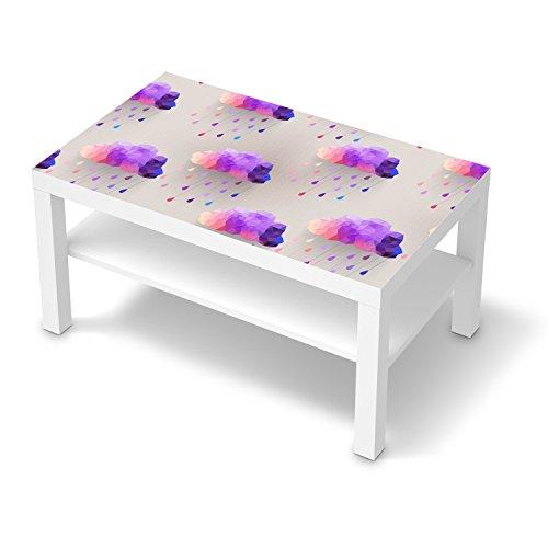 Einrichtungsfolie f r ikea lack tisch 90x55 cm for Klebefolie lila
