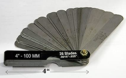 Feeler Gauge FG4X26 Master Blade (4 inches / 100 mm) Image