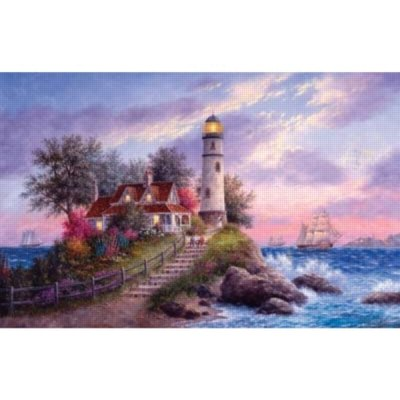 Cheap SunsOut Captain's Cove 1000pc Jigsaw Puzzle by Dennis Lewan (B005641252)