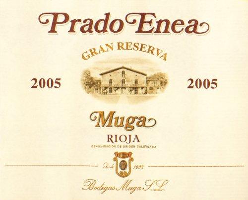 2005 Muga Prado Enea Gran Reserva, Rioja Spain 750 Ml