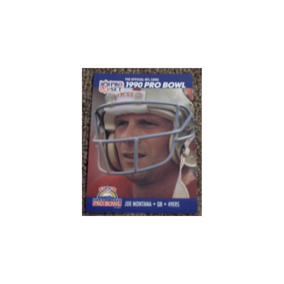 Joe Montana 1990 Pro Set Card #408