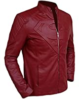 Red Superman Jacket - Famous Smallville Leather Jacket ► Christmas Discount Offer ◄