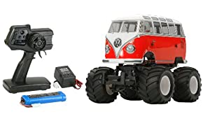 Tamiya 300057826 - 1:10 RC XB VW Bus T1 Wheelie