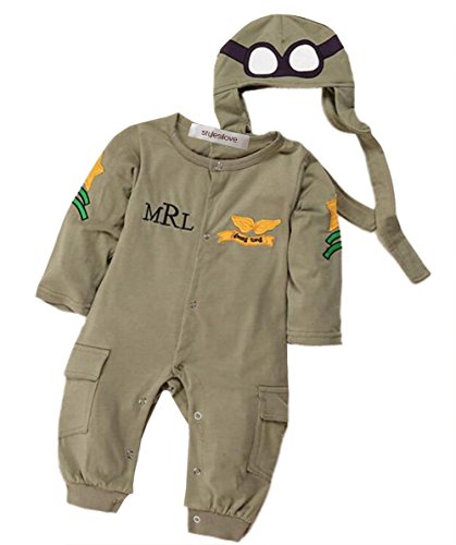 Air Force Baby Romper and Hat 2-pc Costume (12-18 Months)