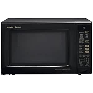 Sharp Countertop Convection Microwave Oven - 900W - Black - R930AK