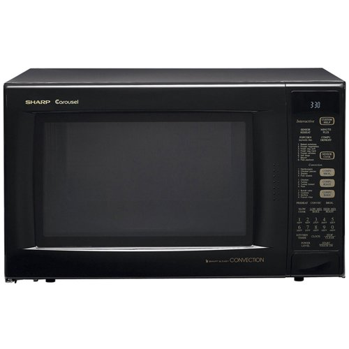 Sharp R-930Ak 1.5 Cu. Ft. 900W Convection Specialty Microwave Oven