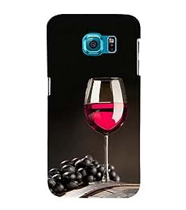 ifasho Designer Phone Back Case Cover Samsung Galaxy S6 Edge :: Samsung Galaxy S6 Edge G925 :: Samsung Galaxy S6 Edge G925I G9250 G925A G925F G925Fq G925K G925L G925S G925T ( Blue Brown Colorful Pattern Design )