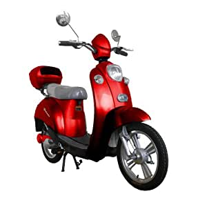 qelectric gelato electric scooter red. Black Bedroom Furniture Sets. Home Design Ideas