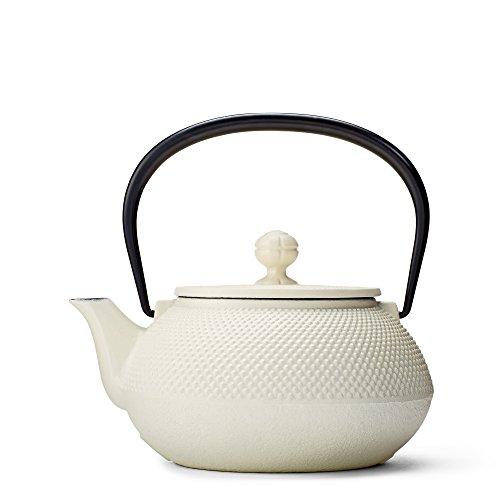 White Hobnail Cast Iron Teapot by Teavana (Teavana Teapot White compare prices)