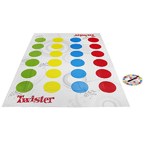 Hasbro Gaming (98831175) - Twister, juego de suelo (versión española/portuguesa)