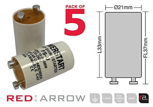 powerstart-fsu-4-80-watt-fluorescent-lamp-starter-with-condenser-pack-of-5