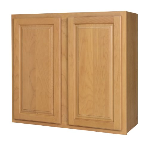 Kraftmaid kitchen cabinets all wood cabinetry w3330 vhs for Kitchen cabinets 36 high