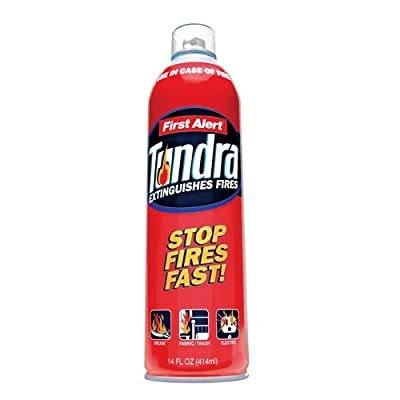 First Alert Tundra Fire Extinguisher Aerosol Spray