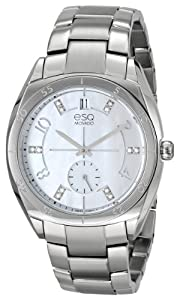 ESQ Movado Women's 07101460 ESQ Origin Analog Display Swiss Quartz Silver Watch