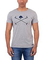 Polo Club Camiseta Manga Corta Academy Brick Tshirt (Gris)