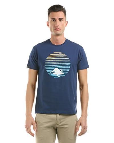 Hot Buttered T-Shirt manica corta Sunset [Blu Scuro]