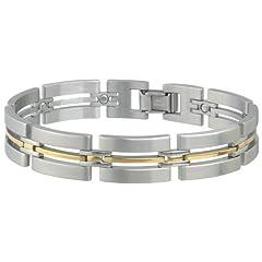 Buy Sabona Imperial Duet Magnetic Bracelet, Medium by Sabona