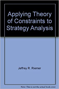 theory of constraints book pdf