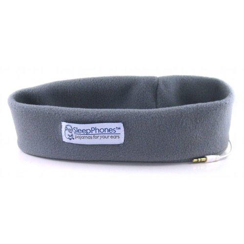 Acousticsheep Sleepphones Classic Sleep Headphones - Frustration-Free Packaging (Gray, Medium - One Size Fits Most)