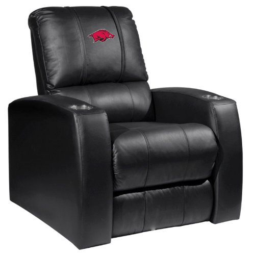 Home Theate Recliner with Arkansas Razorbacks Logo at Amazon.com