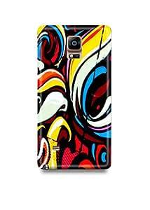 Colorful Graffiti Samsung Note 4 Case