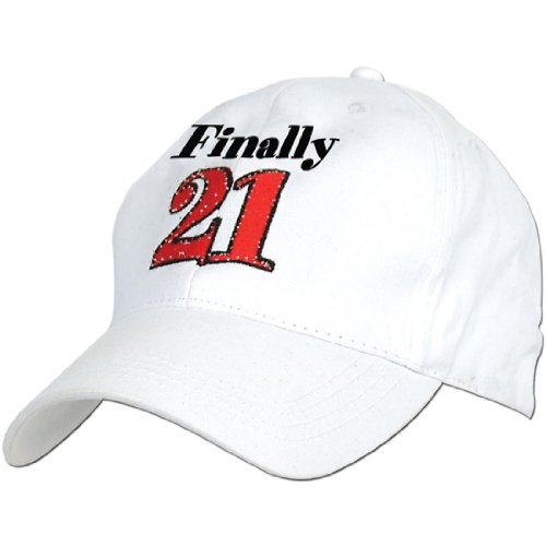 Finally 21 21st Birthday Hat Baseball Cap