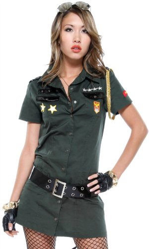 Army Seductress - Sexy Military Girl Costume