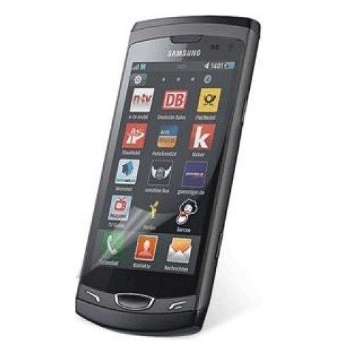 Screen Guard für Samsung WAVE 3 --Schutzfolie Screenguard Schutzfilm mit 2 X Vorderseite ---- NEU ---- SAMSUNG S8600 SCHUTZFOLIE ----