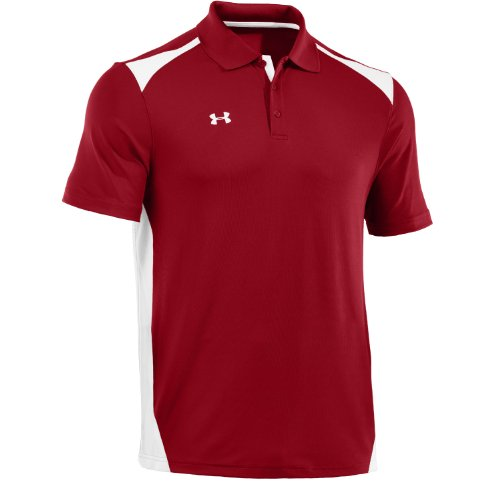 under-armour-mens-team-colorblock-polo-red-white-large