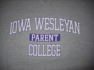 Iowa Wesleyan PARENT CREW NECK Sweatshirt Large NEW! by Foot Locker
