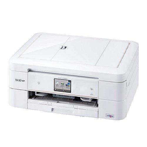 brother プリンター A4 インクジェット複合機 PRIVIO DCP-J968N-W ホワイト (両面印刷/ADF/レーベル印刷/有線・無線LAN対応)