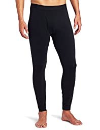 Columbia Men\'s Midweight Base Layer Tights-Black-Large