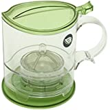 The Fine Life Ideal Gift Bottom Dispensing Loose Leaf Tea Infuser and Coffee Brewer 16oz