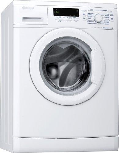 Bauknecht WA Eco Star 81 Waschmaschine Frontlader / A+++ B / 1400 UpM / 8 kg / Weiß / 2-in-1 Display mit Startzeitvorwahl / SMART SELECT / Big window / unterbaufähig