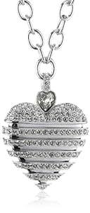 Swarovski Damen-Halskette Metall 45 cm / 2.6 x 3.5 cm rhodiniert 1156278