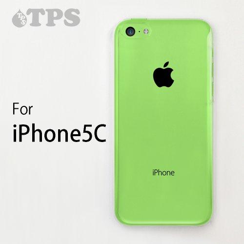 iPhone 5C / NEW iPhone5C用【TPSbA】高品質ハードケース(クリア)