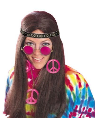 Rubie's Costume Feeling Groovy Female Hippy Accessory Kit, Multicolored, One Size - 1