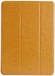 Tunewear Leatherlook Shell for Ipad Air - Honey Brown