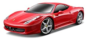 Maisto 1:24 Scale Ferrari 458 Italia R/C Vehicle (Colors may vary)